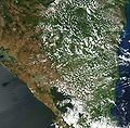 Satellite image of Nicaragua in March 2003.jpg