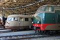 Savigliano - museo ferroviario piemontese - D.461 e ALn 776.jpg