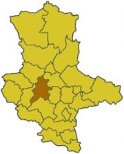 Ашерслебен-Штасфурт на карте