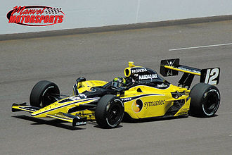 Dragon Racing - Scheckter's LDR car practicing for the 2008 Indy 500