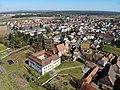 Schloss Großgründlach Luftaufnahme (2020).jpg