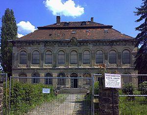 Maschinenbauanstalt Übigau - Übigau House, formerly used as the headquarters