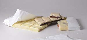 Types of chocolate - Swiss White chocolate
