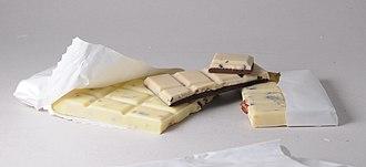 Types of chocolate - Swiss White chocolate