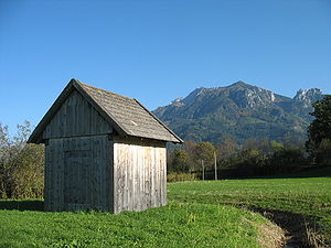 A rural shed