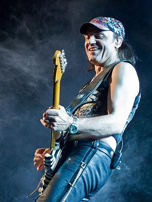 Matthias Jabs - Matthias Jabs live with Scorpions in 2014