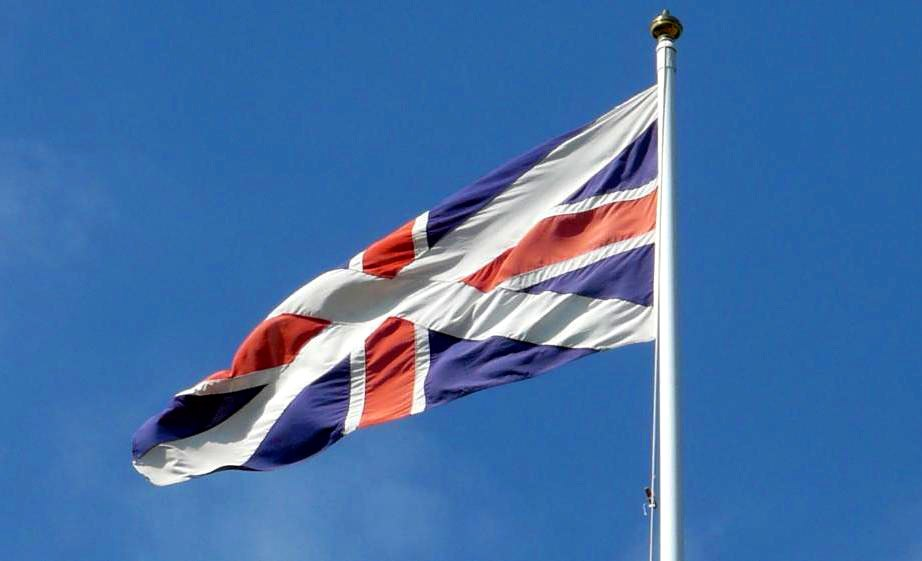 Scottish Union Flag - detail