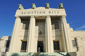 Scottish Rite - Scottish Rite building in Miami, Florida, United States in Miami's Lummus Park neighborhood
