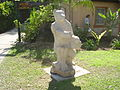 Sculpture by Arie Ashkenazi, Kibbutz Hagoshrim.JPG