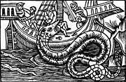 Le serpent de mer tel qu'il était vu au 16e siècle