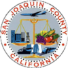 Official seal of San Joaquin County, California
