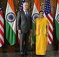 Secretary Mattis with Indian Minister of External Affairs Swaraj at the U.S.-India 2+2 Dialogue (43598826785).jpg