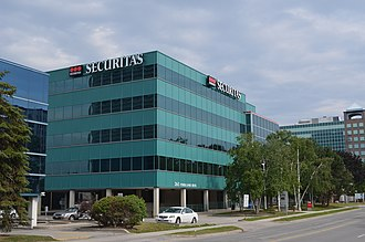 Securitas (Swedish security company) - Securitas office in Canada