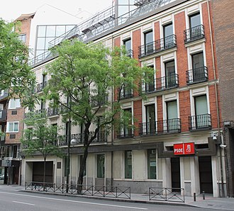 Spanish Socialist Workers' Party - Ferraz 70, PSOE headquarters since 1982