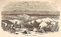 Sefurieh - Plain of Buttauf, Palestine, 1859