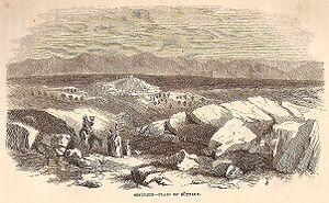 Sefurieh - Plain of Buttauf, Palestine, 1859