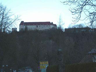 Leibnitz - Image: Seggau castle near Leibnitz 21 12 2005