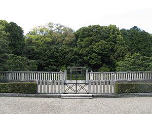 Emperor Seimu - Memorial Shinto shrine and mausoleum honoring Emperor Seimu