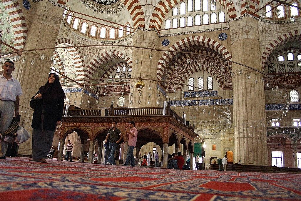 Selimiye Mosque, Interior I