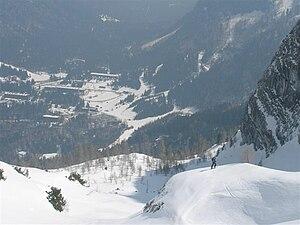 Sella Nevea - View from Mt. Kanin