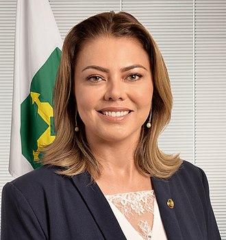 Leila Barros - Image: Senadora Leila Barros