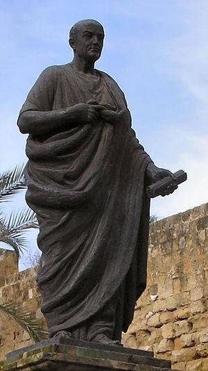 Lucius Annaeus Seneca, sculpture by Puerta de ...