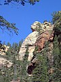 Sentinel in West Fork of Oak Creek Canyon (3878780505).jpg