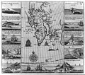 Series of ten small engravings of whale, walrus, and bear hunting, with map of Greenland LCCN2006683463.jpg