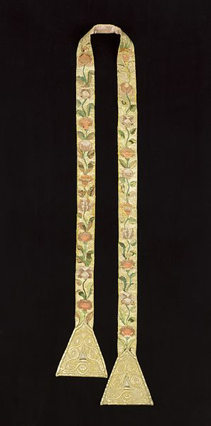 File:Set of Ecclesiastical Vestments (Stole) LACMA M.85.96.4.jpg
