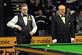 Shaun Murphy and Eirian Williams at Snooker German Masters (DerHexer) 2013-01-30 01.jpg