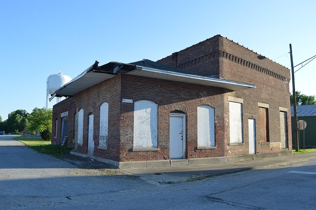 Shelburn Interurban Depot Thi Amp E Interurban Depot Wikipedia
