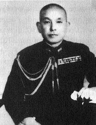 Battle of Tarawa - Rear Adm. Keiji Shibazaki