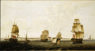 Ships off Dover
