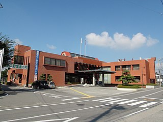 Showa town office Yamanashi prefecture.JPG