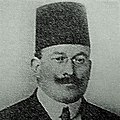 Portrait of Shukri al-Asali prior to his execution in 1916