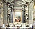 Side altar - Chiesa del Gesù e dei Santi Ambrogio e Andrea - Genoa 2014.jpg