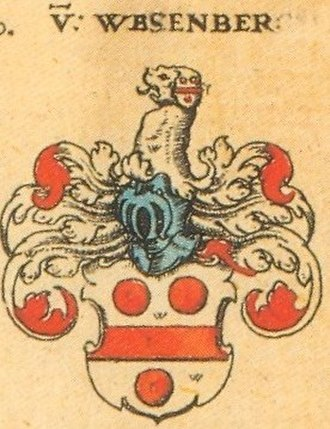 Swiss nobility - Image: Siebmacher Wessenberg 197