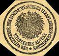Siegelmarke Der Vorsitzende der Einkommensteuer - Veranlagungs Commission - Stadtkreis Altona W0205556.jpg