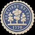 Siegelmarke Gemeinde Helbra W0383061.jpg