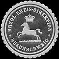 Siegelmarke Hrzgl. Kreis-Direktion Braunschweig W0352108.jpg