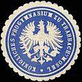 Siegelmarke Königliches Progymnasium zu Trarbach-Mosel W0313879.jpg