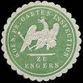 Siegelmarke K.Pr. Garten-Inspection zu Engers W0344394.jpg
