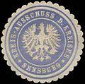 Siegelmarke Kreis-Ausschuss d. Kreises Sensburg W0387728.jpg