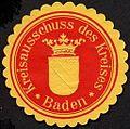 Siegelmarke Kreisausschuss des Kreises - Baden W0227245.jpg
