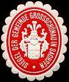 Siegelmarke Siegel der Gemeinde Grossschönau in Sachsen W0219326.jpg