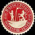 Siegelmarke Siegel der Stadt Mülheim am Rhein W0214979.jpg