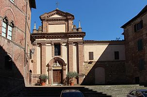 San Pietro alle Scale, Siena