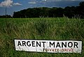 Sign at the end of a drive near Stutton - geograph.org.uk - 498438.jpg