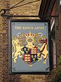 Sign for The King's Arms, John Street - Northington Street, WC1 - geograph.org.uk - 1237296.jpg