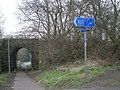 Signpost for the Silkin Way - Sustrans R55 - geograph.org.uk - 698324.jpg